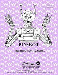 PINBOT PINBALL MANUAL (REPRINT)