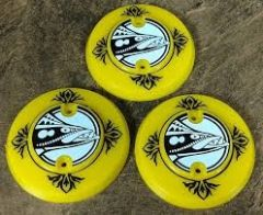 BARRACORA DECORATED POPBUMPER CAPS SET OF 3