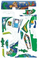 FISH TALES PLAYFIELD PLASTIC SET