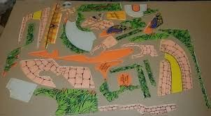 INDIANA JONES PLAYFIELD PLASTIC SET