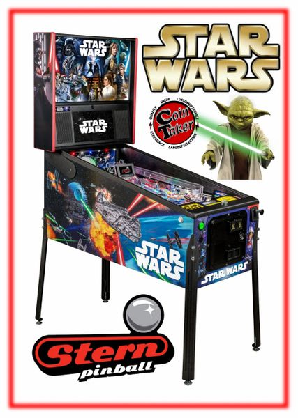 Star Wars Pinball Machine >> Star Wars Pinball Machine Pro Cointaker Distributor Of Pinball