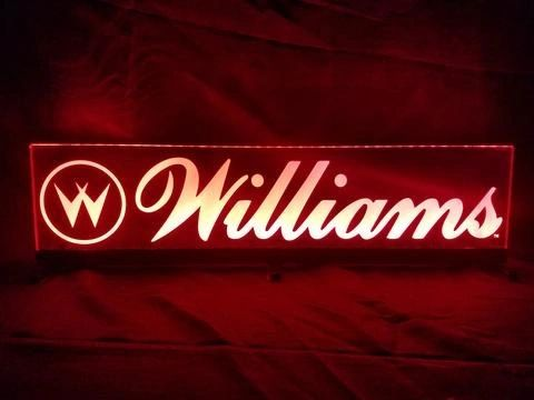 WILLIAMS LED SIGN