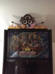 AEROSMITH PINBALL TOPPER