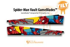 SPIDERMAN VAULT EDITION GAMEBLADES