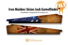 IRON MAIDEN: UNION JACK GAMEBLADES