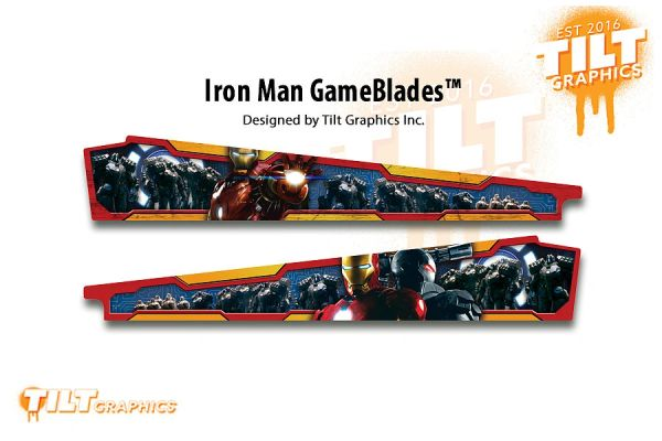 IRON MAN:THE MOVIE GAMEBLADES