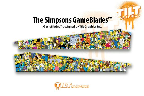 THE SIMPSONS: MONTAGE GAMEBLADES