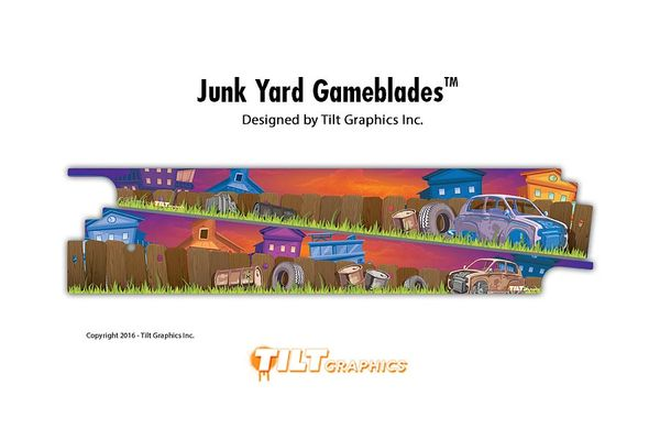 JUNKYARD: IN THE YARD GAMEBLADES