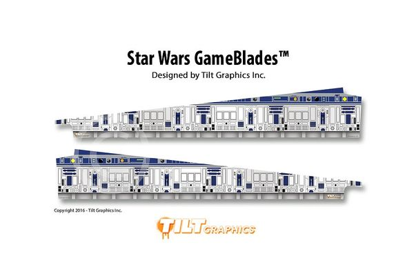 Star Wars Data East GameBlades