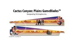 Cactus Canyon: Plains GameBlades
