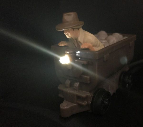 Indiana Jones Mine Cart