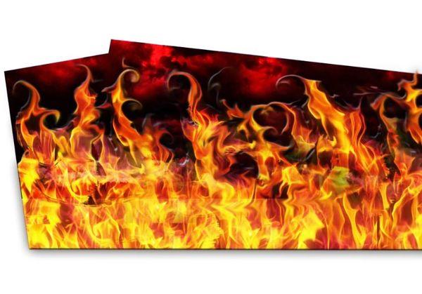 AC/DC- Flame Pinblades