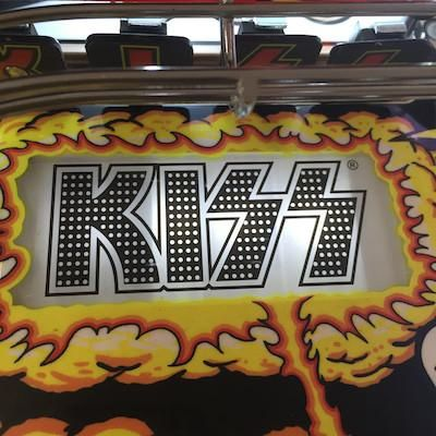 Kiss Pinball Logo Light Bracket