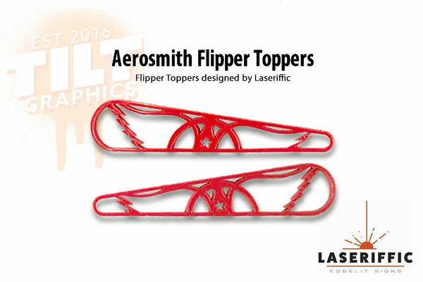 Aerosmith Flipper Toppers