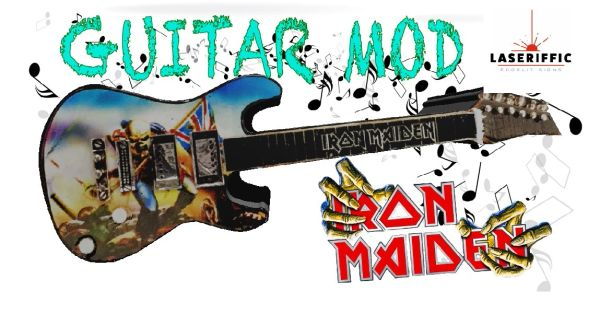 IRON MAIDEN ELECTRIC GUITAR MOD