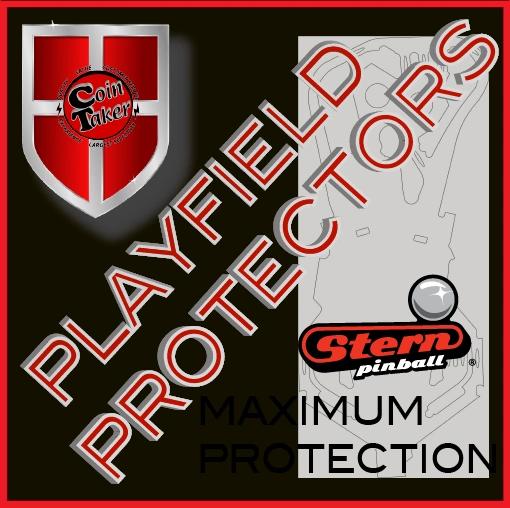 Playfield Protector Pinball - STERN