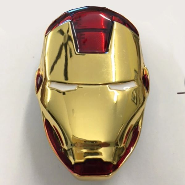 Iron Man Metal Face Shooter Rod