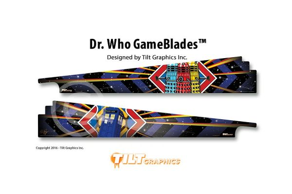 Dr. Who GameBlades
