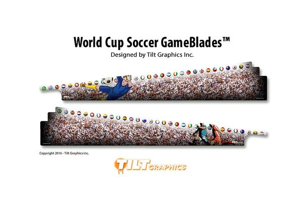WORLD CUP SOCCER GAMEBLADES