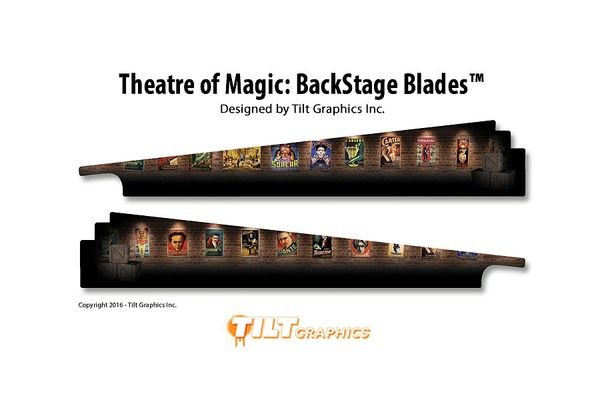 Theatre of Magic: Back Stage GameBlades