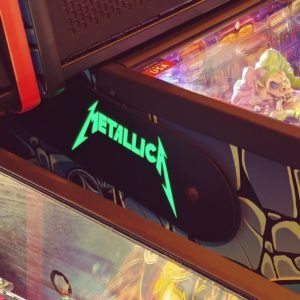 METALLICA GREEN LIGHTED MAGNETIC HINGE COVERS