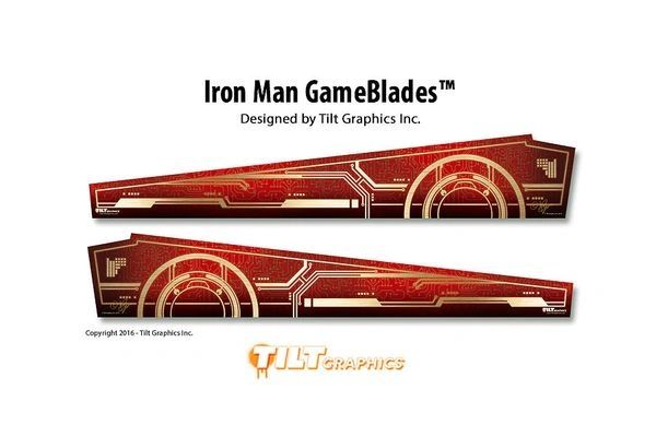 IRON MAN GAMEBLADES ON CHROME MIRROR BLADES