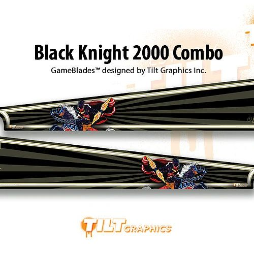 Black Knight 2000: Combo GameBlades