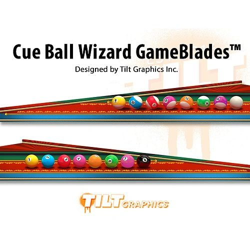 Cue Ball Wizard: GameBlades