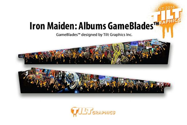 Iron Maiden: Albums GameBlades