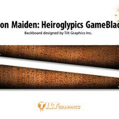 Iron Maiden: Heiroglypics GameBlades