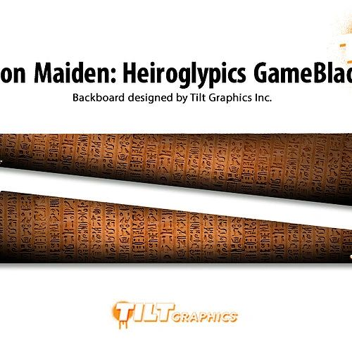 Iron Maiden: Heiroglypics GameBlades