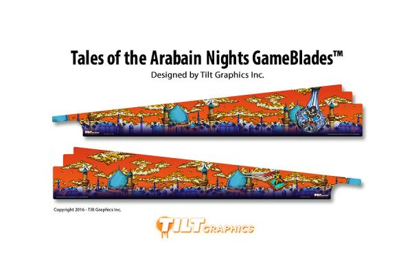 Tales of the Arabian Nights GameBlades