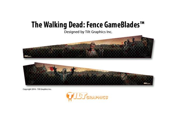 The Walking Dead: Fence GameBlades