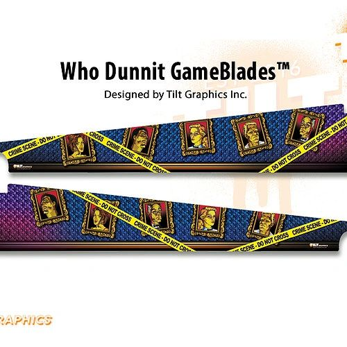 Who Dunnit GameBlades