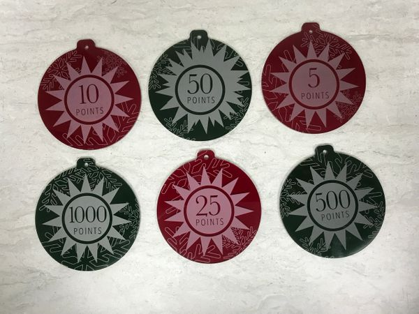 POP BUMPER CHRISTMAS ORNAMENTS