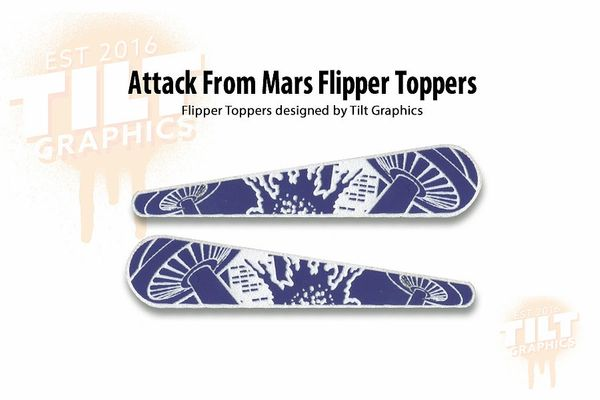 Attack From Mars Flipper Toppers TG