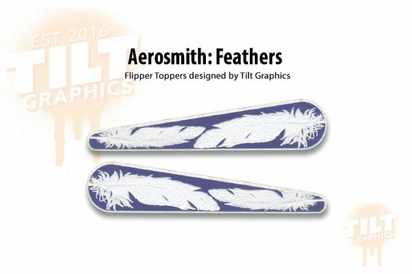 Aerosmith Feathers Flipper Toppers
