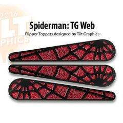 SpiderMan: Web Flipper Toppers-TG