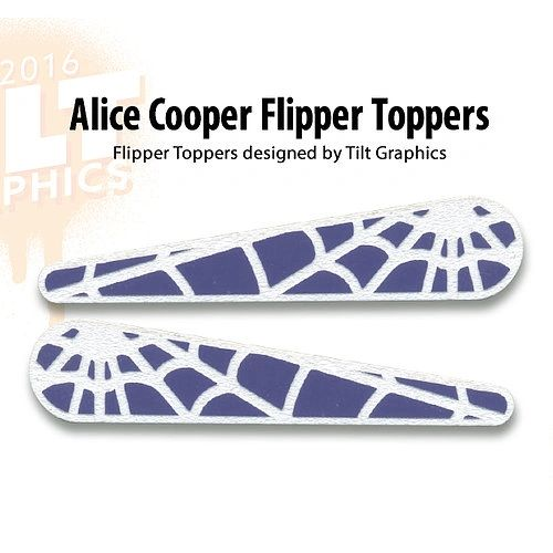 Alice Cooper Flipper Toppers