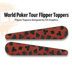 World Poker Tour TG-Flipper Toppers
