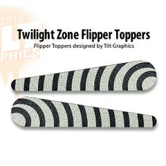 Twilight Zone TG-Flipper Toppers