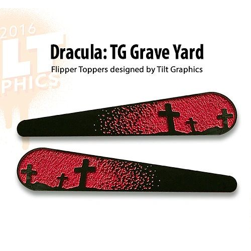 Dracula Grave Yard Flipper Toppers