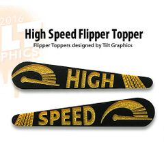 High Speed TG-Flipper Toppers