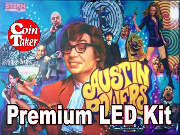 AUSTIN POWERS-1 Pro LED Kit w Premium Non-Ghosting LEDs
