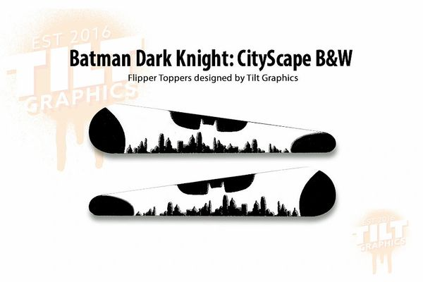 Batman Dark Knight CityScape Flipper Toppers