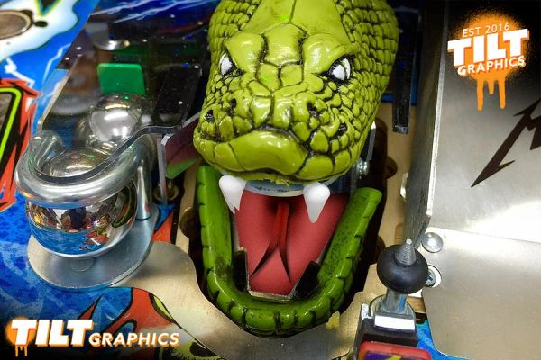 Metallica Snake Tongue Decals- Tilt Graphics