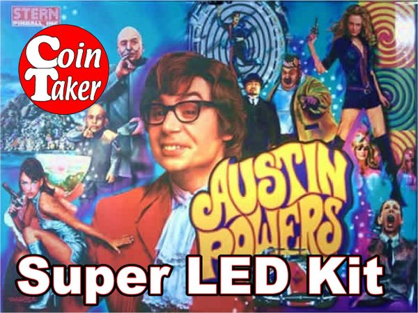 AUSTIN POWERS-2 Pro LED Kit w Super LEDs