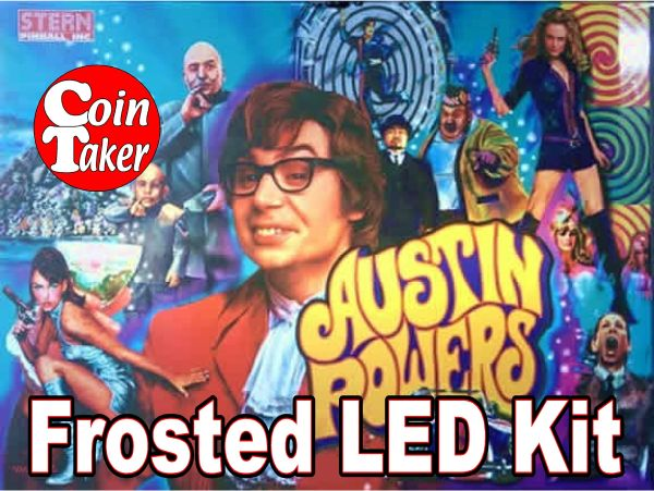 AUSTIN POWERS-3 Pro LED Kit w Frosted LEDs