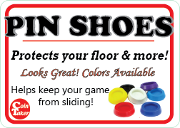 PIN SHOES (SET OF 4)