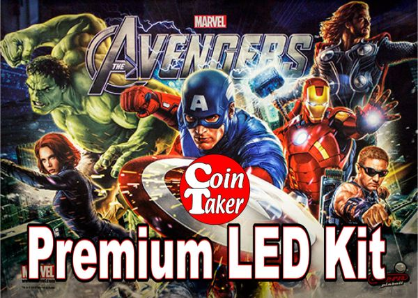AVENGERS-1 Pro LED Kit w Premium Non-Ghosting LEDs